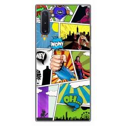 Funda Gel Tpu para Samsung Galaxy Note10 diseño Comic Dibujos