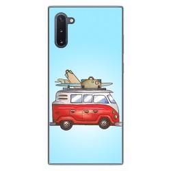 Funda Gel Tpu para Samsung Galaxy Note10 diseño Furgoneta Dibujos