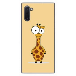 Funda Gel Tpu para Samsung Galaxy Note10 diseño Jirafa Dibujos