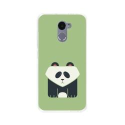 Funda Gel Tpu para Xiaomi Redmi 4 Diseño Panda Dibujos