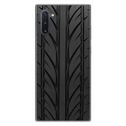 Funda Gel Tpu para Samsung Galaxy Note10 diseño Neumatico Dibujos