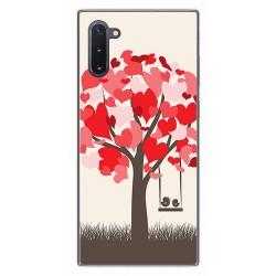 Funda Gel Tpu para Samsung Galaxy Note10 diseño Pajaritos Dibujos