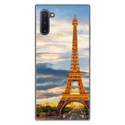 Funda Gel Tpu para Samsung Galaxy Note10 diseño Paris Dibujos