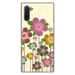 Funda Gel Tpu para Samsung Galaxy Note10 diseño Primavera En Flor Dibujos