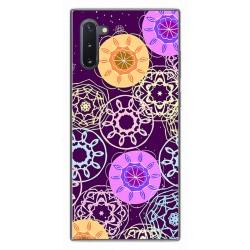 Funda Gel Tpu para Samsung Galaxy Note10 diseño Radial Dibujos