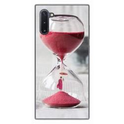 Funda Gel Tpu para Samsung Galaxy Note10 diseño Reloj Dibujos