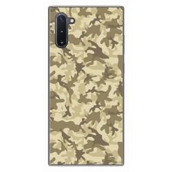 Funda Gel Tpu para Samsung Galaxy Note10 diseño Sand Camuflaje Dibujos