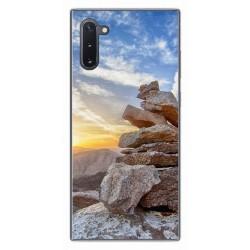 Funda Gel Tpu para Samsung Galaxy Note10 diseño Sunset Dibujos