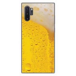 Funda Gel Tpu para Samsung Galaxy Note10+ diseño Cerveza Dibujos
