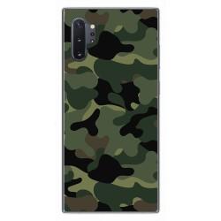 Funda Gel Tpu para Samsung Galaxy Note10+ diseño Camuflaje Dibujos