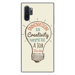 Funda Gel Tpu para Samsung Galaxy Note10+ diseño Creativity Dibujos