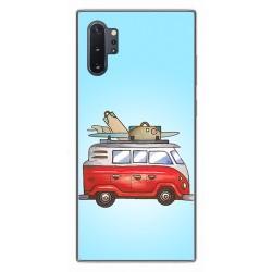 Funda Gel Tpu para Samsung Galaxy Note10+ diseño Furgoneta Dibujos