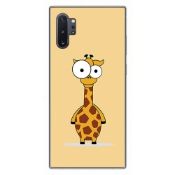 Funda Gel Tpu para Samsung Galaxy Note10+ diseño Jirafa Dibujos