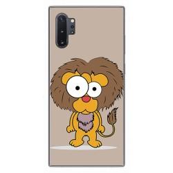 Funda Gel Tpu para Samsung Galaxy Note10+ diseño Leon Dibujos