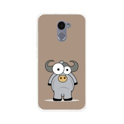 Funda Gel Tpu para Xiaomi Redmi 4 Diseño Toro Dibujos