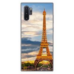 Funda Gel Tpu para Samsung Galaxy Note10+ diseño Paris Dibujos