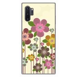 Funda Gel Tpu para Samsung Galaxy Note10+ diseño Primavera En Flor Dibujos