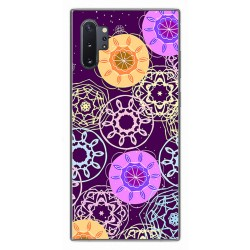 Funda Gel Tpu para Samsung Galaxy Note10+ diseño Radial Dibujos