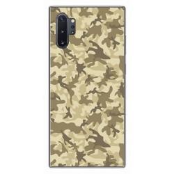 Funda Gel Tpu para Samsung Galaxy Note10+ diseño Sand Camuflaje Dibujos
