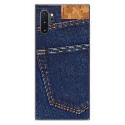 Funda Gel Tpu para Samsung Galaxy Note10+ diseño Vaquero Dibujos