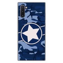 Funda Gel Tpu para Samsung Galaxy Note10 diseño Camuflaje 03 Dibujos