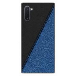 Funda Gel Tpu para Samsung Galaxy Note10 diseño Cuero 02 Dibujos