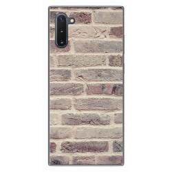 Funda Gel Tpu para Samsung Galaxy Note10 diseño Ladrillo 01 Dibujos