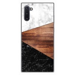 Funda Gel Tpu para Samsung Galaxy Note10 diseño Mármol 11 Dibujos