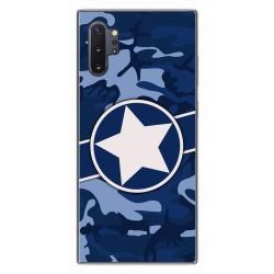 Funda Gel Tpu para Samsung Galaxy Note10+ diseño Camuflaje 03 Dibujos