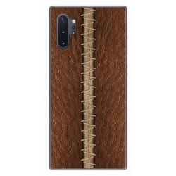 Funda Gel Tpu para Samsung Galaxy Note10+ diseño Cuero 01 Dibujos