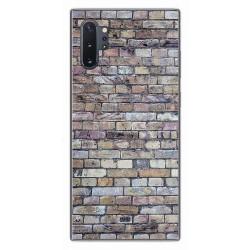 Funda Gel Tpu para Samsung Galaxy Note10+ diseño Ladrillo 02 Dibujos