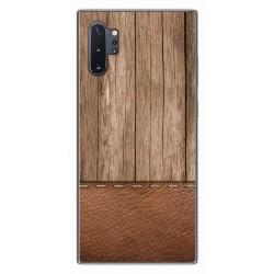Funda Gel Tpu para Samsung Galaxy Note10+ diseño Madera 09 Dibujos