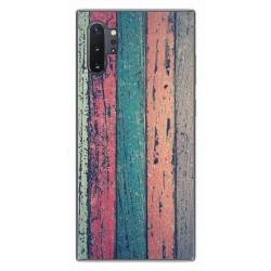 Funda Gel Tpu para Samsung Galaxy Note10+ diseño Madera 10 Dibujos