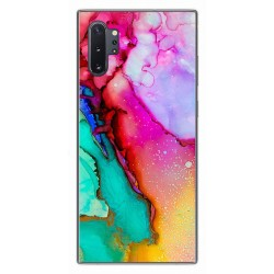 Funda Gel Tpu para Samsung Galaxy Note10+ diseño Mármol 15 Dibujos