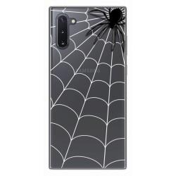 Funda Gel Transparente para Samsung Galaxy Note10 diseño Araña Dibujos