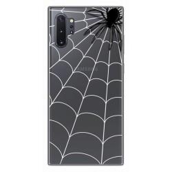 Funda Gel Transparente para Samsung Galaxy Note10+ diseño Araña Dibujos
