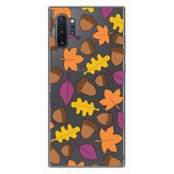 Funda Gel Transparente para Samsung Galaxy Note10+ diseño Otoño Dibujos