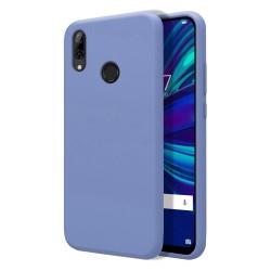 Funda Silicona Líquida Ultra Suave para Huawei P Smart 2019 / Honor 10 Lite color Azul Celeste
