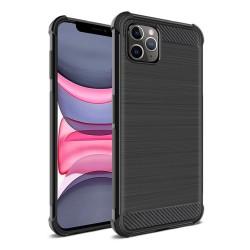 Funda Gel Tpu Anti-Shock Carbon Negra para Iphone 11 Pro (5.8)