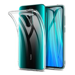 Funda Gel Tpu Fina Ultra-Thin 0,5mm Transparente para Xiaomi Redmi Note 8 Pro