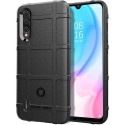 Funda Armor Rugged Shield Antigolpes para Xiaomi Mi A3 color Negra