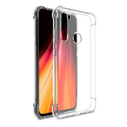 Funda Gel Tpu Anti-Shock Transparente para Xiaomi Redmi Note 8