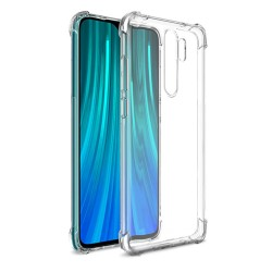 Funda Gel Tpu Anti-Shock Transparente para Xiaomi Redmi Note 8 Pro