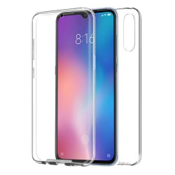 Funda Completa Transparente Pc + Tpu Full Body 360 para Xiaomi Mi 9 Lite