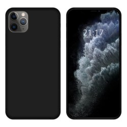 Funda Gel Tpu para Iphone 11 Pro Max (6.5) Color Negra