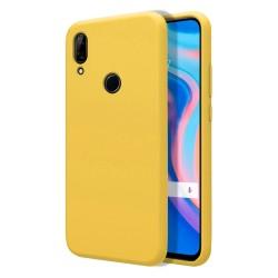 Funda Silicona Líquida Ultra Suave para Huawei P Smart Z color Amarilla