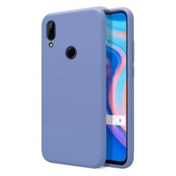 Funda Silicona Líquida Ultra Suave para Huawei P Smart Z color Azul Celeste