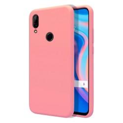 Funda Silicona Líquida Ultra Suave para Huawei P Smart Z color Rosa