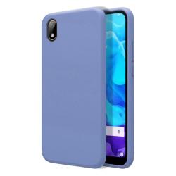 Funda Silicona Líquida Ultra Suave para Huawei Y5 2019 color Azul Celeste