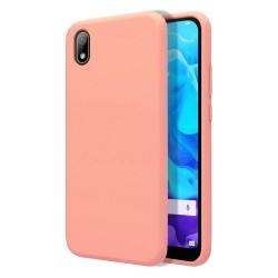 Funda Silicona Líquida Ultra Suave para Huawei Y5 2019 color Rosa